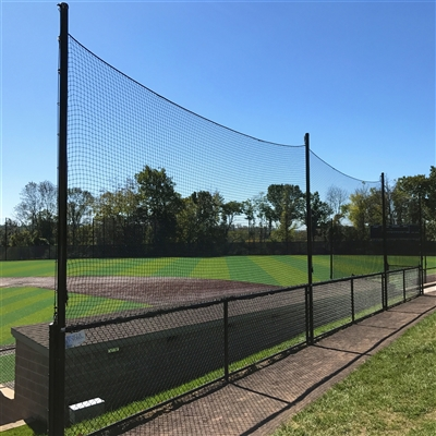 20u0027 BallStopper Sports Netting   Fence Posts