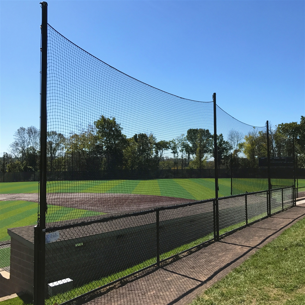 20 Ballstopper Sports Netting Fence Posts