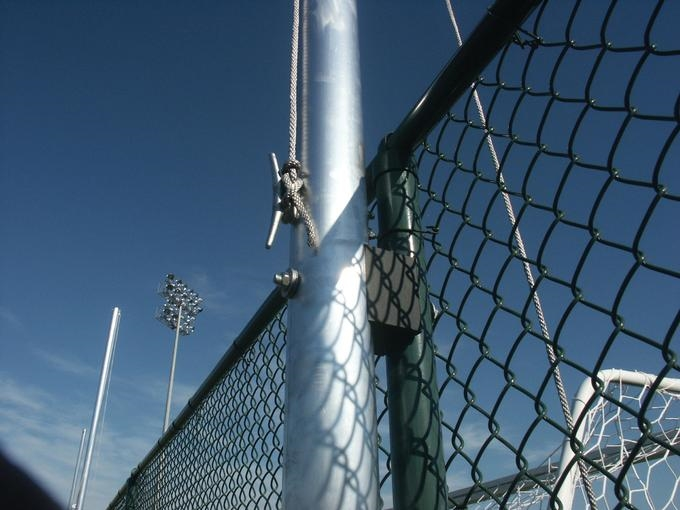20\' BallStopper Sports Netting - Fence Posts