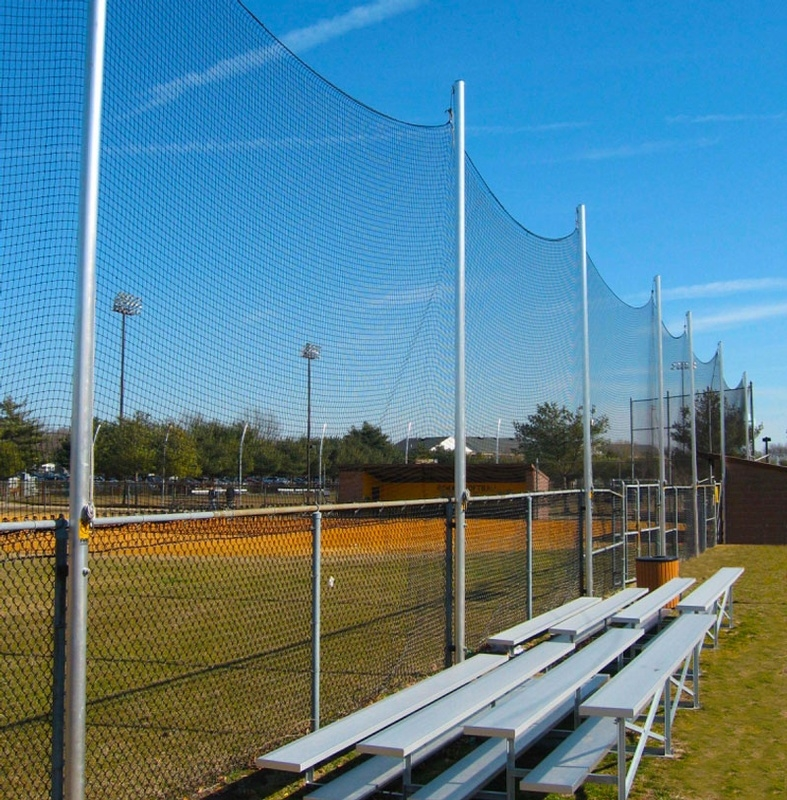 20' BallStopper Sports Netting - Fence Posts