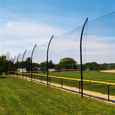 20' - 40' BallStopper Sports Netting - Offset Posts