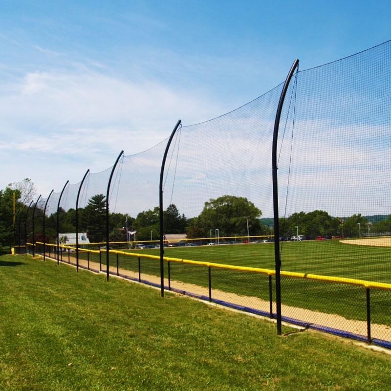 BallStopper Sports Netting   Offset Posts