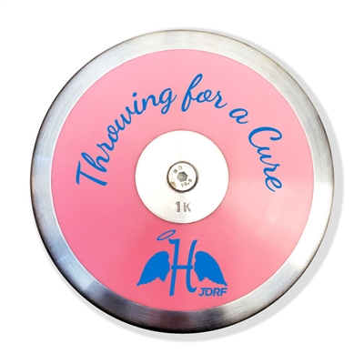 Harper's Angels Pink Plastic Discus (Throwing for a Cure)