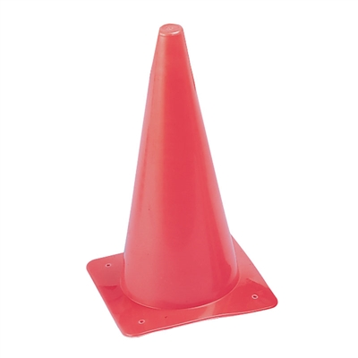 High Visibility Plastic Cone Markers
