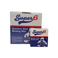 Super 6 308 L S i Stainless Steel MIG Wire 1.0 M M 0.7 K G