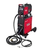Image showing the new Lincoln Electric Powertec i 420 S MIG Welding machine in red