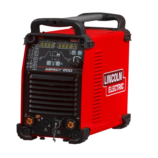 Lincoln Aspect 200 A C / D C TIG / G T A W Welding Machine