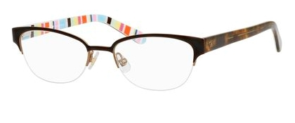 Designer Eyeglass Frames Kansas City : Kate Spade KS Shayla Eyeglasses 0W34 Brown