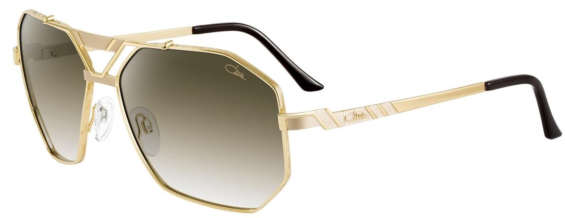 cazal 9058 sunglasses 002 gold