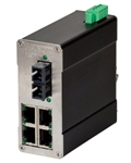 N-Tron Industrial Ethernet Switch - 105FXE-SC-80