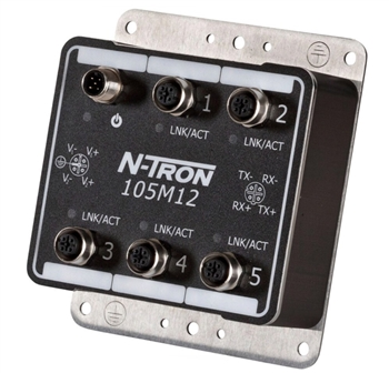 N-Tron 5 Port Switch - 105M12