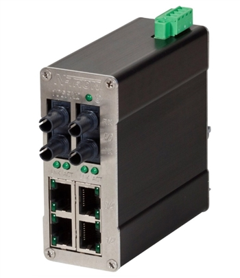 N-Tron 106FX Industrial Ethernet Switch
