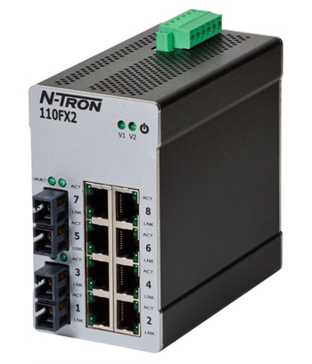 N-Tron 110FX2 Industrial Ethernet Switch