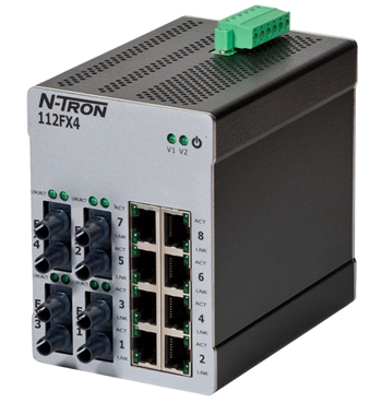 N-Tron 112FX4 Industrial Ethernet Switch