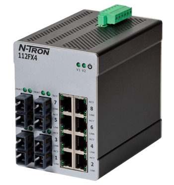 N-Tron 112FXE4 Industrial Ethernet Switch