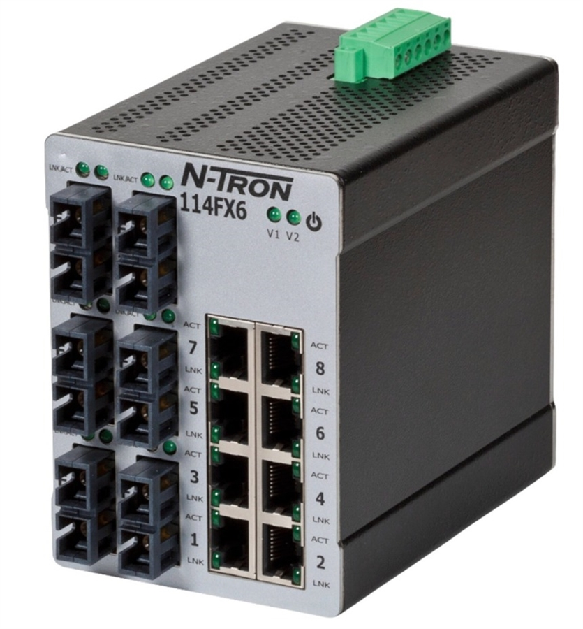 N-Tron NTRON 105TX-SL Industrial Ethernet Switch Red Lion.