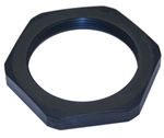 "Mencom 210PA/SW 1"" NPT Black Plastic Locking Nut"