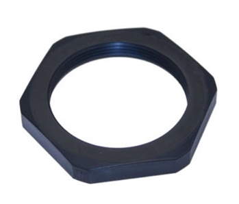 "Mencom 234PA/SW 3/4"" NPT Black Plastic Locking Nut"