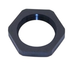 "Mencom 238PA/SW 3/8"" NPT Black Plastic Locking Nut"