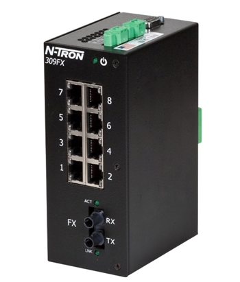 N-Tron Ethernet Switch w/ N-View OPC Server 309FXE-N-ST-40