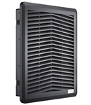 Fandis 250 x 250 mm Black Fan Filter