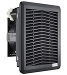 Fandis 115 Vac Black Filter Fan