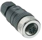 Lumberg Automation M12 Connector, 5 Pin, Female Straight, PG 9