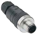 Lumberg Automation M12 Connector, 5 Pin, Male Straight, PG 9