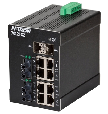 N-Tron Ethernet Switch with Gigabit Capable Ports