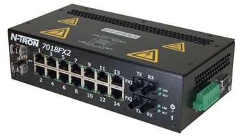 N-Tron 7018FX2 Industrial Ethernet Switch
