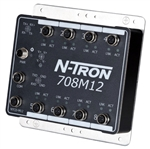 N-Tron 8 Port Industrial Ethernet Switch - 708M12