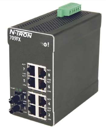 N-Tron 709FXE Industrial Ethernet Switch