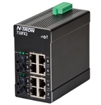 N-Tron Ethernet Switch with ST Style Fiber Ports