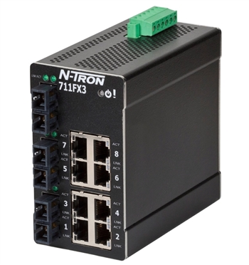 N-Tron 711FXE3 Industrial Ethernet Switch