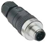 Lumberg Automation M12 Connector, 3 Pin, Male Straight, PG 9, Spring Terminals