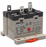 Kacon 730-1QR-220VAC Electro Mechanical Power Relay, DIN Rail Mount