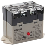 Kacon 730-1TB-24VDC Electro Mechanical Power Relay, Panel Mount