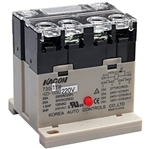 Kacon 730-1TR-220VAC Electro Mechanical Power Relay, DIN Rail Mount