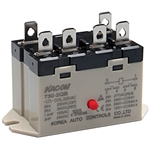 Kacon 730-2QB-110VAC Electro Mechanical Power Relay, Panel Mount