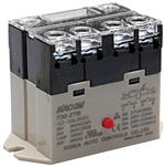 Kacon 730-2TB-24VDC Electro Mechanical Power Relay, Panel Mount
