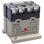 Kacon 730-2TR-220VAC Electro Mechanical Power Relay, DIN Rail Mount