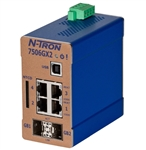 N-Tron Gigabit Ethernet Switch w/ 2 SFP 1000BaseSX Ports - 7506GX2-SX