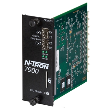 N-Tron CPU Fully Managed Industrial Ethernet Switch - 7900CPU