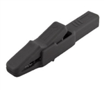 Hirschmann 932435-100 Black Alligator Clip