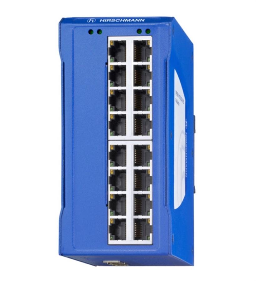 Hirschmann 942120-001 SPIDER II 16TX EEC Entry Level Ethernet Switch