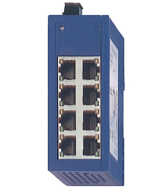 Hirschmann 943376-001 SPIDER 8TX Industrial Ethernet Switch