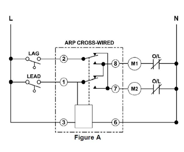 Alternating Relay Circuit Diagram - Wiring Diagram