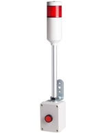 Menics ATEP-R 1 Tier Tower Light, Red