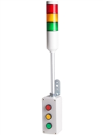 Menics ATEP-RYG 3 Tier Tower Light, Red Yellow Green