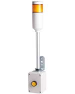 Menics ATEP-Y 1 Tier Tower Light, Yellow